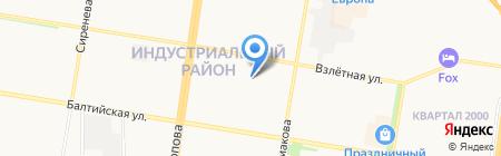 АлтайLED на карте Барнаула