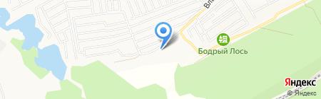 Крылатых на карте Барнаула