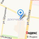Магазин фастфудной продукции на карте Барнаула