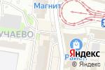 Схема проезда до компании Хлебный дворик в Барнауле