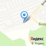 В сухом логу на карте Барнаула