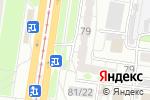 Схема проезда до компании Семейка в Барнауле