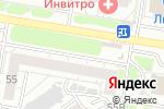 Схема проезда до компании Лек-Сота в Барнауле