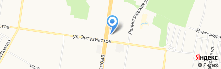Tweet на карте Барнаула