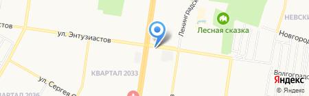 Отличные Наличные на карте Барнаула