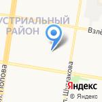 Арбели на карте Барнаула