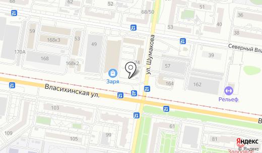 Транспортная компания. Схема проезда в Барнауле