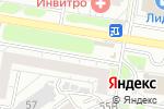 Схема проезда до компании АГАФИТ-А в Барнауле