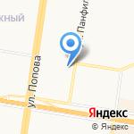 Магазин полуфабрикатов на карте Барнаула