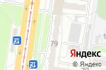 Схема проезда до компании МУВЕКОН в Барнауле