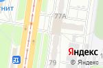 Схема проезда до компании МУВЕКОН+ в Барнауле