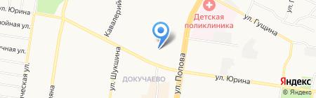 ДЕЗ №1 Ленинского района МУП на карте Барнаула