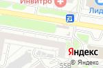 Схема проезда до компании Кредо в Барнауле