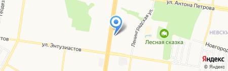 Весь Фэн-Шуй на карте Барнаула