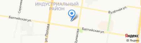 АРТ-Комплект на карте Барнаула