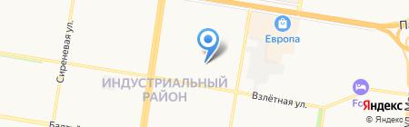 Патриот на карте Барнаула