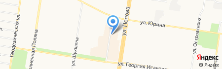 Бэбиленд на карте Барнаула