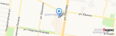Комфорт на карте Барнаула