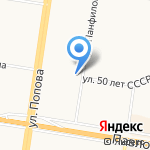 Росбанк на карте Барнаула