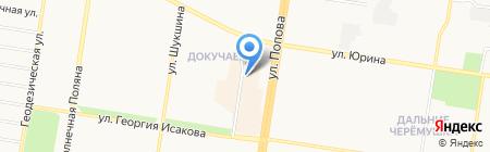 Аванпост на карте Барнаула