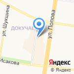 Рам-Юнис на карте Барнаула