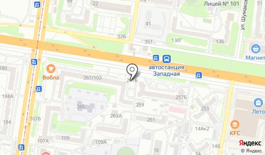 Бочка. Схема проезда в Барнауле