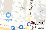 Схема проезда до компании Парк Колес в Барнауле