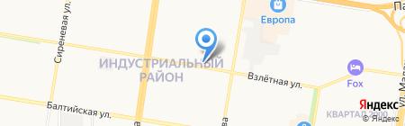 Городская поликлиника №14 на карте Барнаула