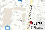 Схема проезда до компании ТеплоЭкспорт в Барнауле