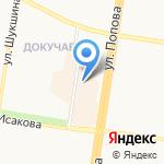 Агроном на карте Барнаула