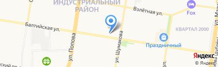 АЛЬКОН на карте Барнаула