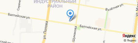 ИНВИТРО на карте Барнаула