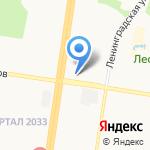 МК-1 на карте Барнаула
