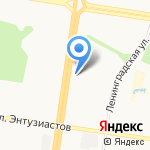 Строй Дом на карте Барнаула