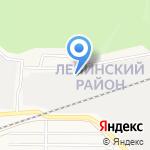 Алло гараж на карте Барнаула