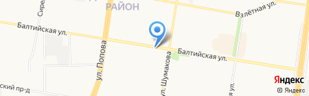 БРЮККЕ на карте Барнаула