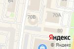 Схема проезда до компании Киоск по продаже мясной продукции в Барнауле