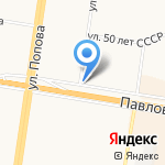 Дукон на карте Барнаула