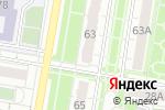 Схема проезда до компании Пражский дворик в Барнауле