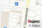 Схема проезда до компании ИнКрафт-Трейд в Барнауле