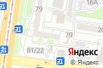 Схема проезда до компании Богиня красоты в Барнауле