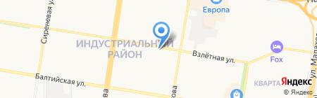Салон цветов на карте Барнаула