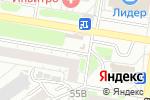 Схема проезда до компании ПрофКрепеж в Барнауле