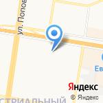 Новелла на карте Барнаула