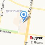 Статус на карте Барнаула