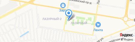 ЗапСиб Регион на карте Барнаула