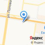 Адвокатский кабинет Малининой Ю.Г. на карте Барнаула