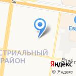 Средняя общеобразовательная школа №125 с углубленным изучением отдельных предметов на карте Барнаула