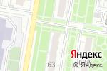 Схема проезда до компании ЗапСиб Регион в Барнауле