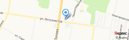 22 Дюйма на карте Барнаула